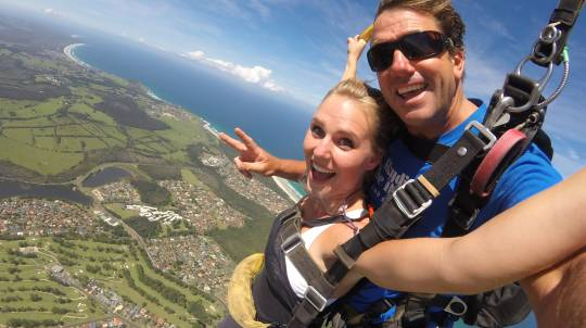 Tandem Skydive Over Byron Bay - Up To 15,000ft - Weekend