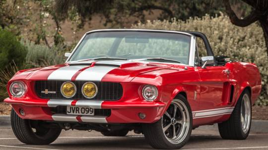 GT500 Mustang Convertible Car Hire - 6 Hours - Midweek