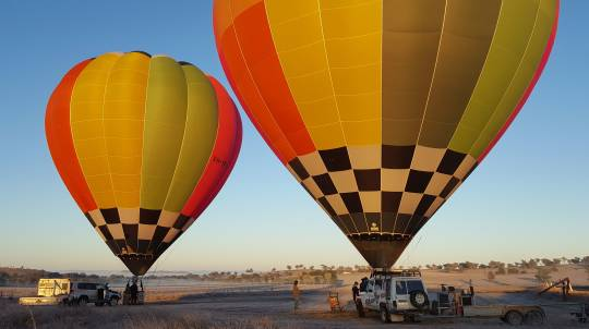 Hot Air Balloon Flight and Vineyard Breakfast