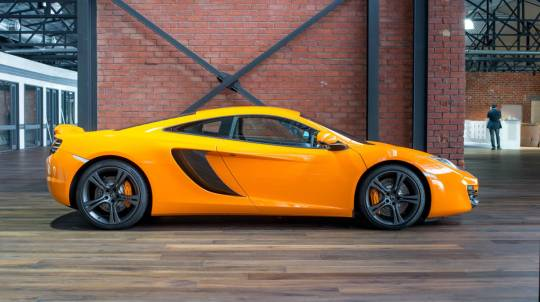 Luxury McLaren 12C Supercar Drive and Dine Package - For 2