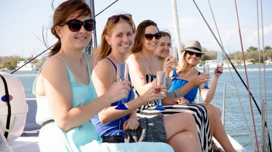 Sailing Dinner Cruise with Seafood Platter - For 2