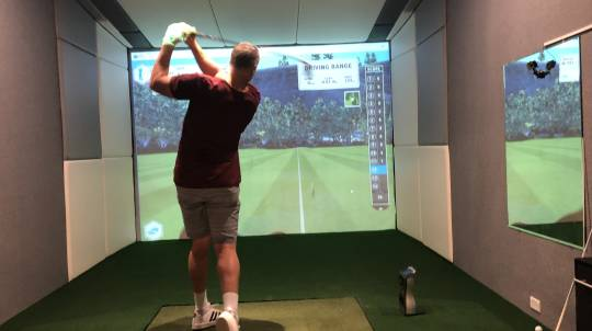 3 Hour Indoor Golf Training and Gaming Session - For 4