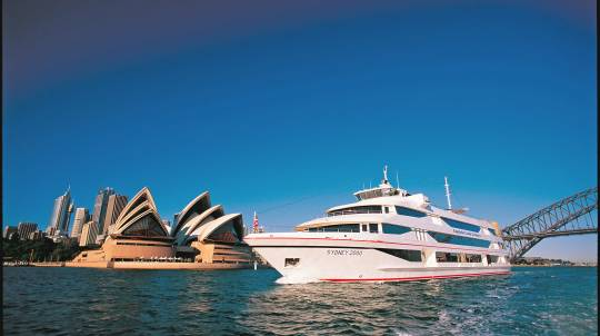 Sydney Harbour Cruise with 3 Course Lunch - Adult