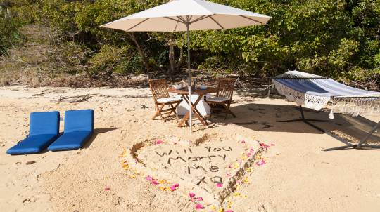 Proposal Package: Kayaking and Secluded Beach Proposal