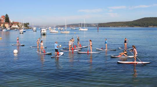Stand Up Paddle Board - Group Lesson - Manly