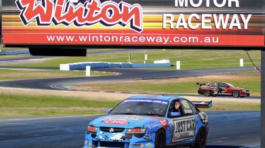 V8 Race Car Front Seat Hot Laps Ride - 3 Laps - Winton