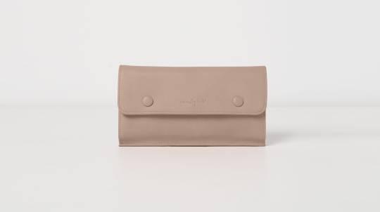 Vegan Leather Button Wallet - Various Colours