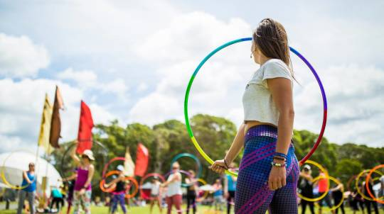 Learn to Hula Hoop Dance - Private Lesson