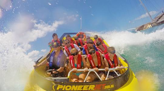 Jet Boat Ride Airlie Beach - 30 Minutes