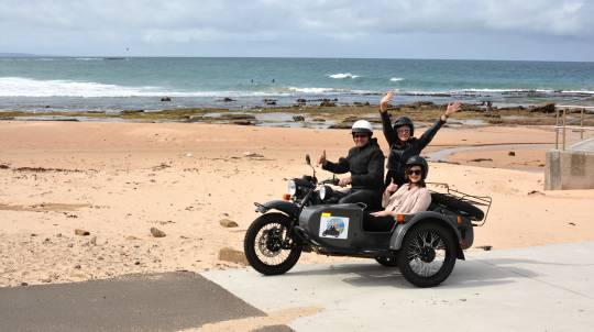 3 Hour South Coast Sidecar Tour