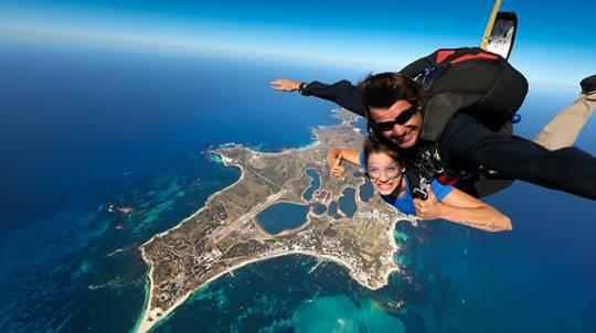 Tandem Skydive over Rottnest Island - 15,000ft
