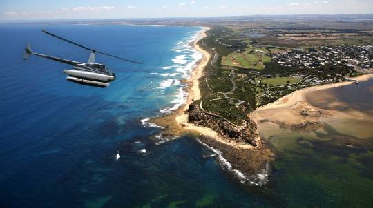 Helicopter Flight over Geelong City and Barwon River - For 2