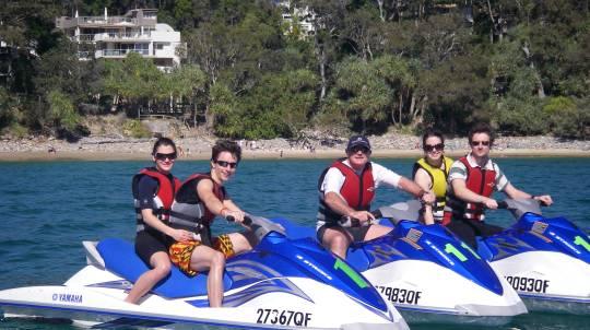 Jet Ski in the Ocean - 60 Minutes
