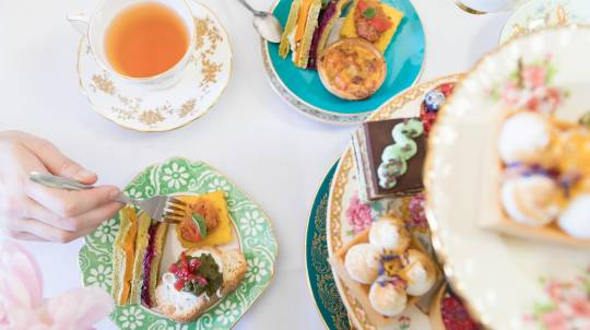 Delicious High Tea with Champagne and Goodie Bags - For 2