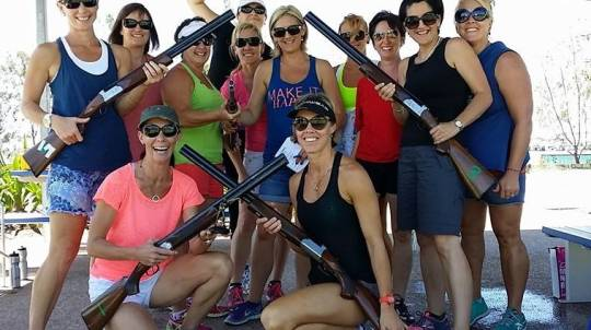 Team Building Laser Clay Shooting
