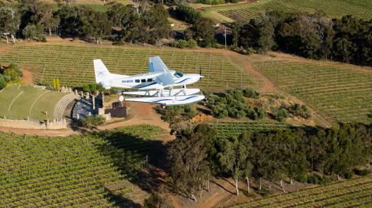 Margaret River Seaplane Tour with Wine Tasting and Lunch