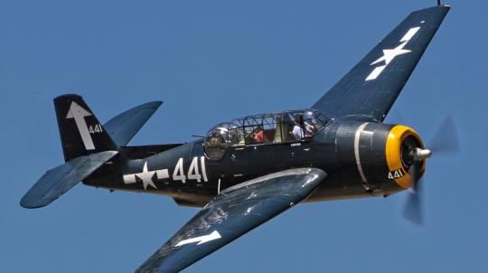 WWII TBM-3 Grumman Avenger Bomber Flight - 20 Minutes