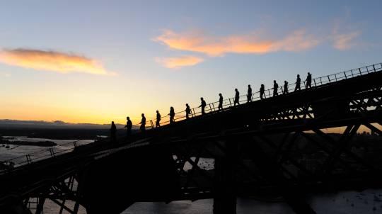 Sydney Harbour Bridge Twilight - Weekend - Child
