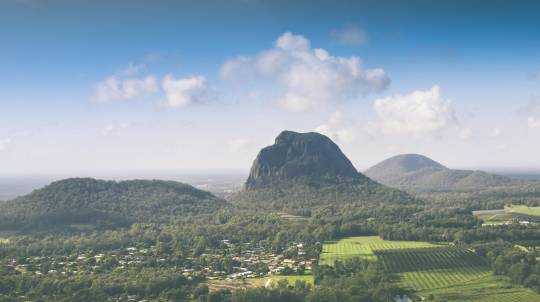 Rock Climbing in the Glasshouse Mountains - Full Day