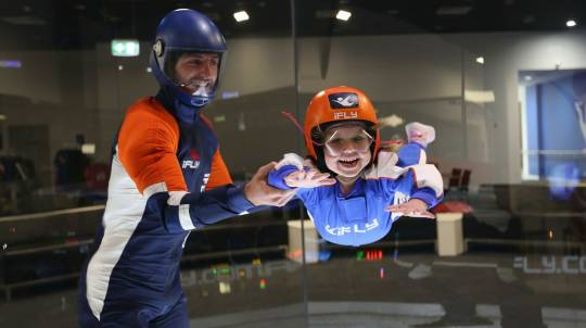 Plus Indoor Skydiving - 4 Flights - Weekend - Gold Coast