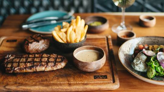 2 Course Steakhouse Dinner - For 2 - Southbank