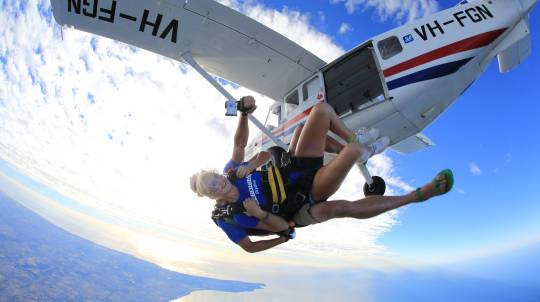 10,000ft Tandem Skydive over Cable Beach Broome