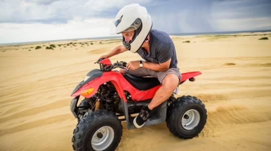 The Sandpit Quad Bike Experience - Child