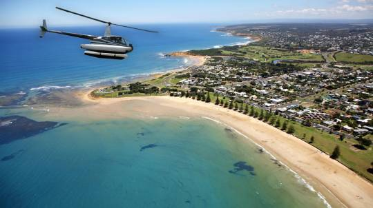 Helicopter Flight over Bells Beach - For 2