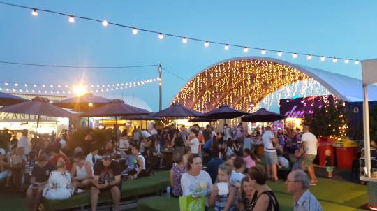 Brisbane Eat Street Markets Bike Tour
