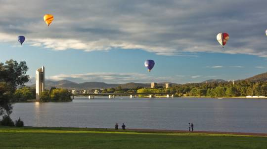 Hot Air Ballooning Over Canberra - Midweek - For 2