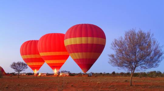 Alice Springs Hot Air Ballooning - 30 Minutes