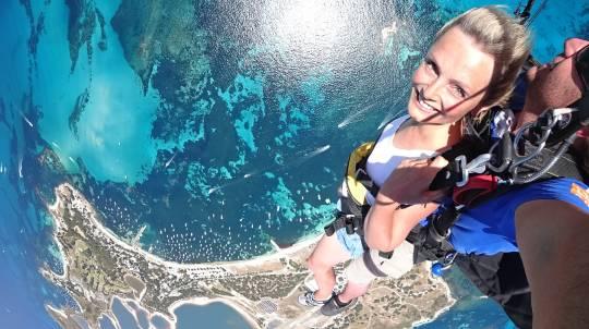 Tandem Skydive over Rottnest Island - 8,000ft
