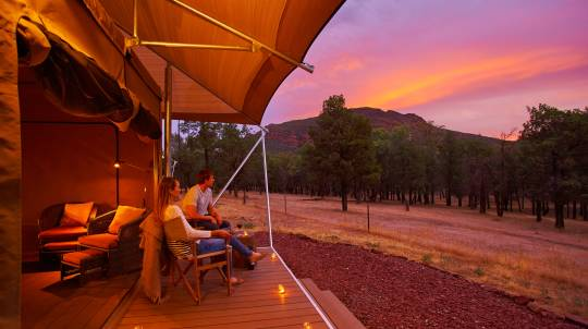 Flinders Ranges Glamping with Dinner and Breakfast - Midweek