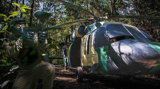 Group Paintball Experience - 100 Paintballs - Petrie, QLD