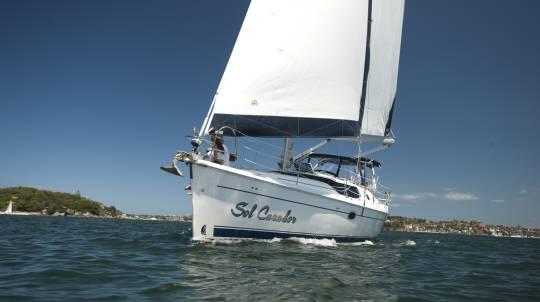 Sailing Yacht Regatta at Twilight - Minimum 14 People