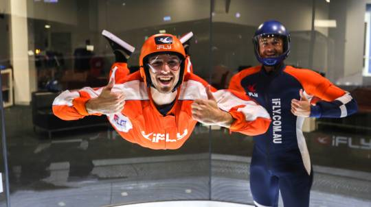 Indoor Skydiving Plus - Midweek - 4 Flights
