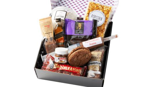 Sweet Treats, Whisky and Personalised Nutella Gift Box