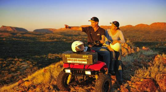 Quad Bike Rush Tour in the Australian Outback