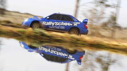 Rally Driving 3 Hot Laps - Sydney
