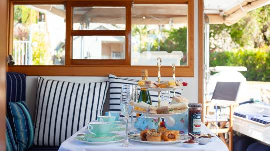Private High Tea at Sea - For 2