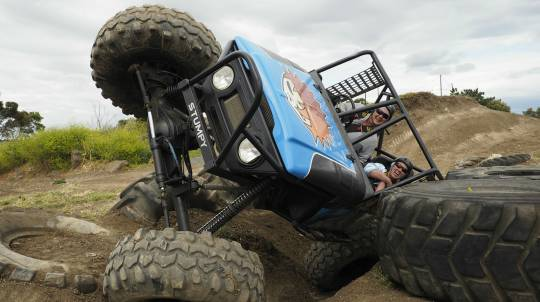 4WD Adventure Drive and Passenger Lap - 3 Courses - Weekend