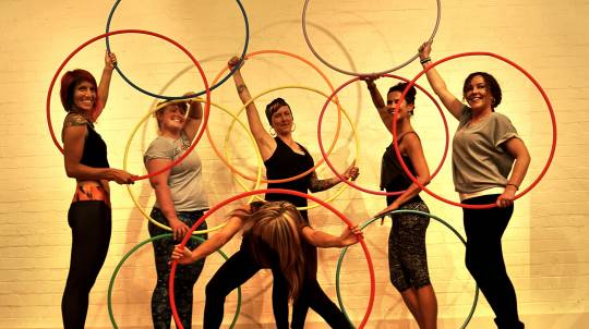 Private Hula Hoop Lesson - For 4