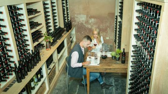 Private Wine Tasting and 3 Course Lunch with Wine - For 2