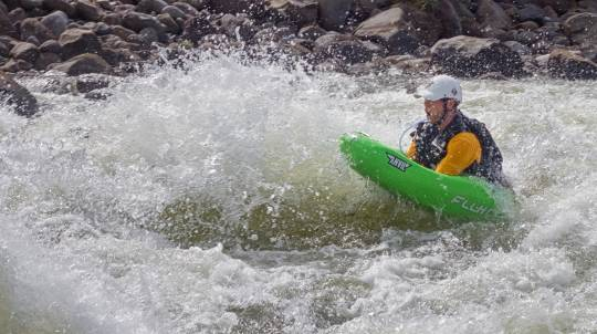 Intermediate Whitewater River Boarding - 2.5 Hours