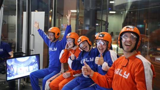 Family and Friends Indoor Skydiving Package - 10 Flights