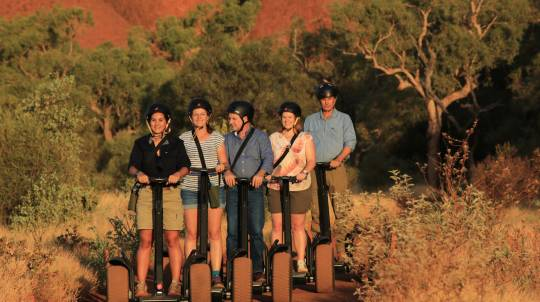 Uluru Sunrise Breakfast and Segway Tour