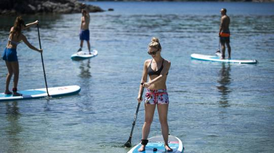 Stand Up Paddle Boarding Lesson - Try 3 Styles of SUP