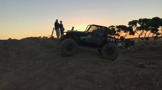 4WD at Night Driving Experience - Weekend