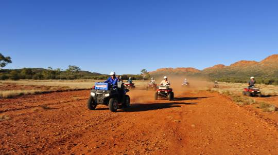 Quad Bike Adventure Tour in the Australian Outback