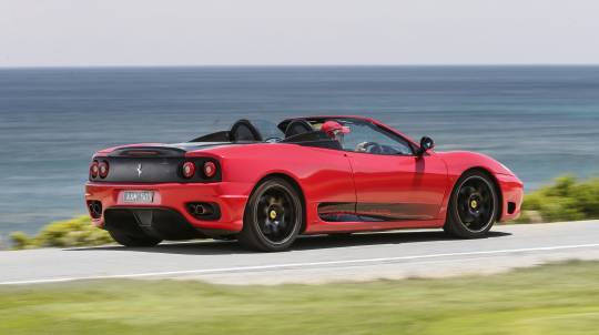 Ferrari Joy Ride around Melbourne
